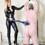 Cruel Confinement Whipping CaningA viciously wielded single tail whip, paddle, crop and then finally the cane!