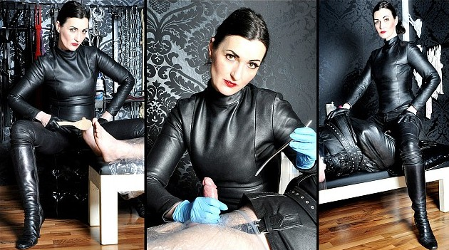 It's not easy to get accepted by Lady Victoria Valente, so for this slave it is a real honour. But she doesn't give it out so easily, every slave has to earn it. This Mistresss is famous for her cruel punishment including the excrutiating art of bastinado. And her slaves are always totally under her control from this day forward! See more at FEMME FATALE FILMS