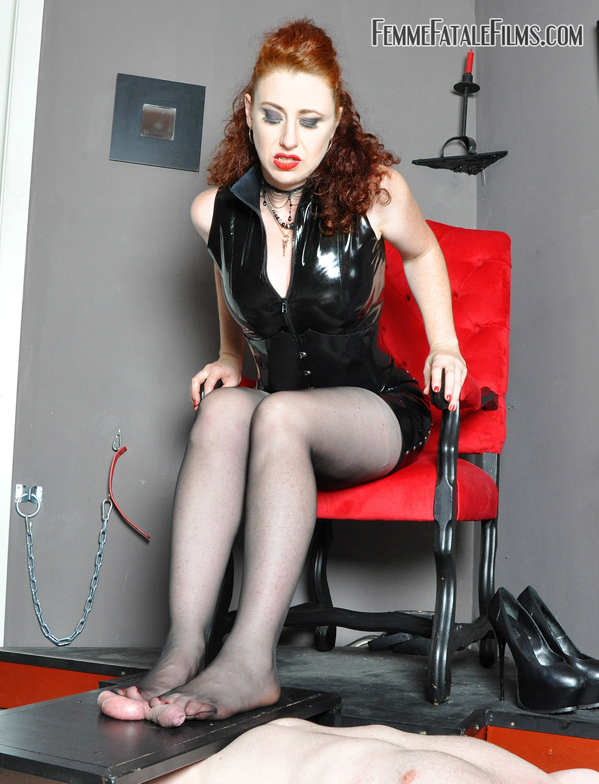 Crushed Trampled Balls heels feet punished