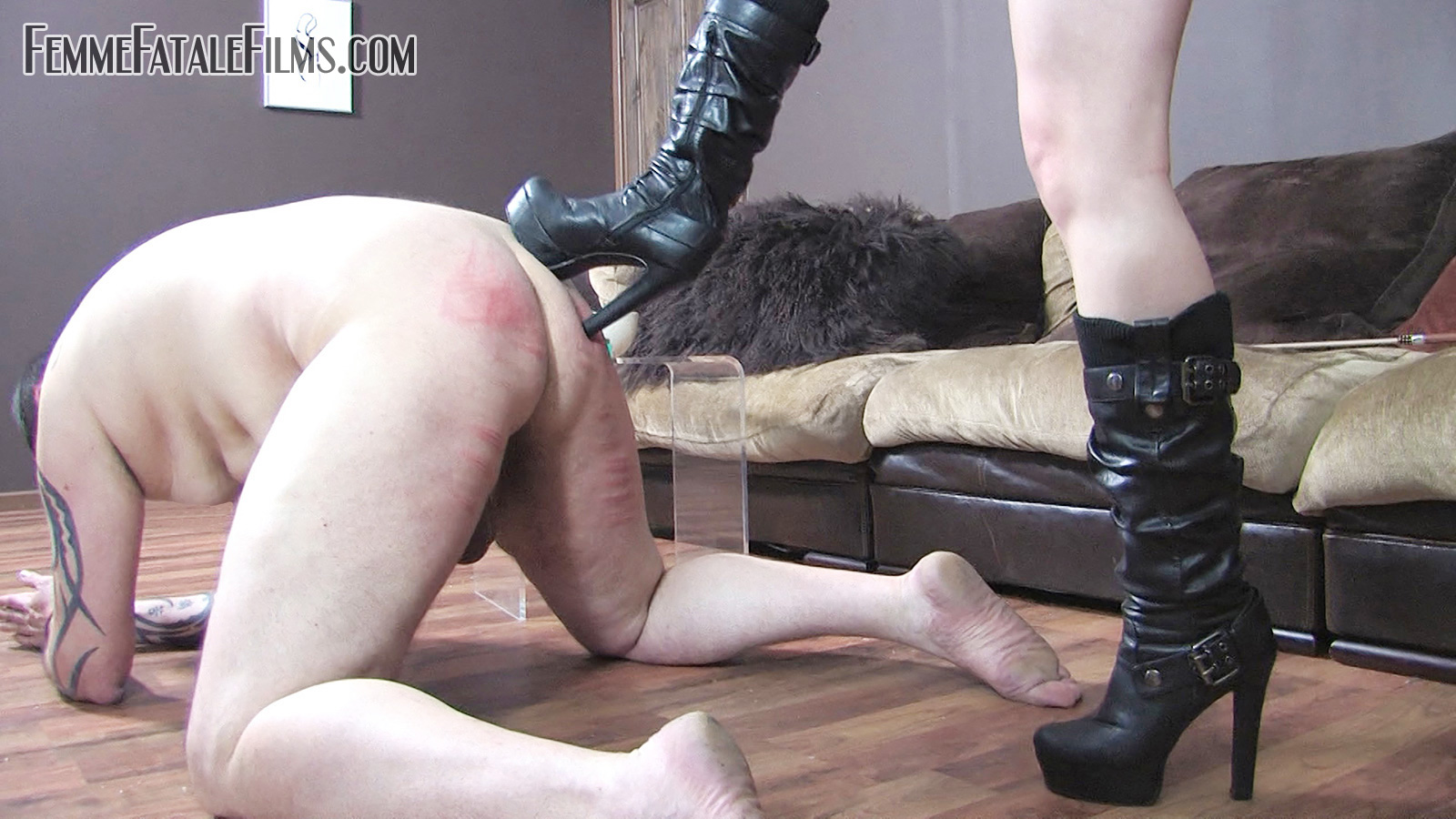 Boot Busted Beaten Featuring Governess Ely.