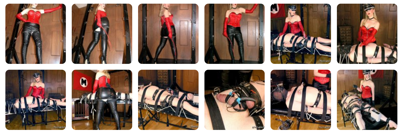 Mistress Sidonia of The English Mansion electro CBT and nipple torture