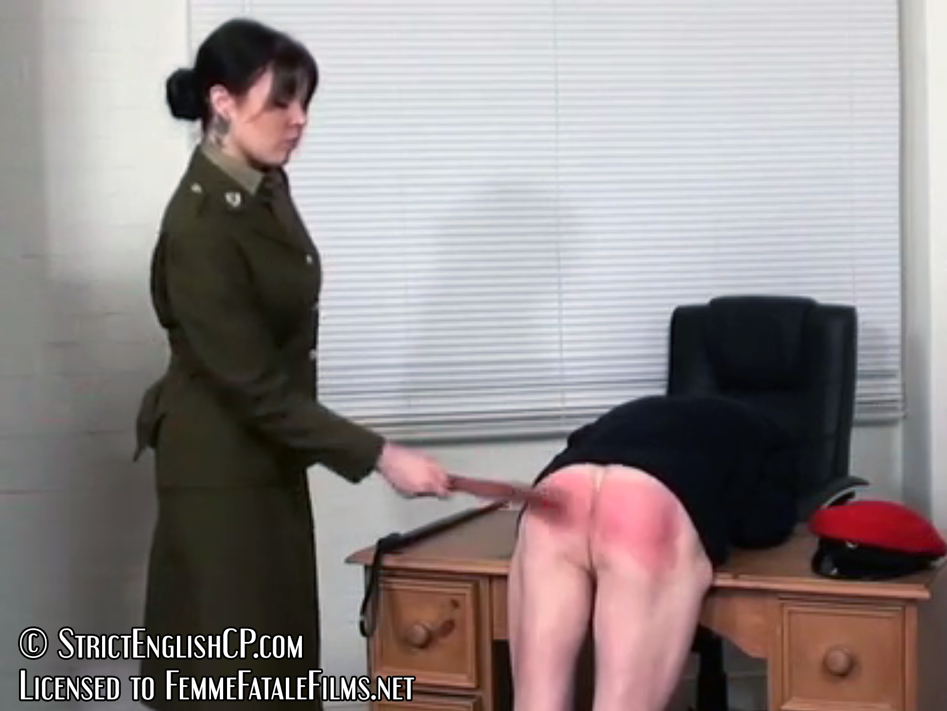 Private punishment on the bare bottom