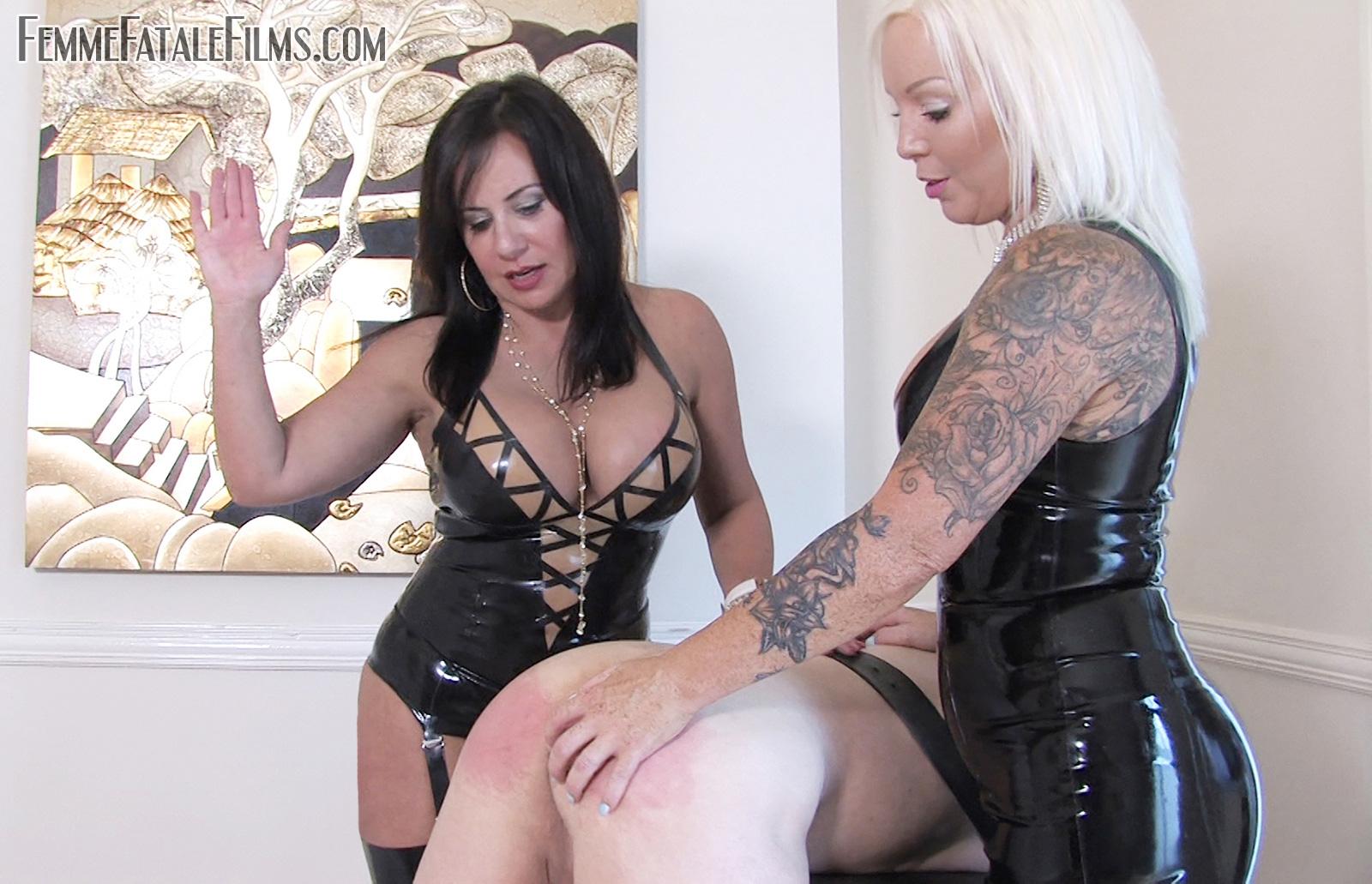 Mistress R'eal' punishes her slave