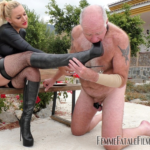 Femme Fatale Films presents Stiletto Boot Prints - Super HD with Mistress Fox