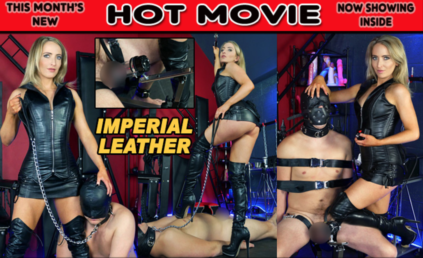 The english Mansion Hot Fem Dom Movie featuring Mistress Courtney