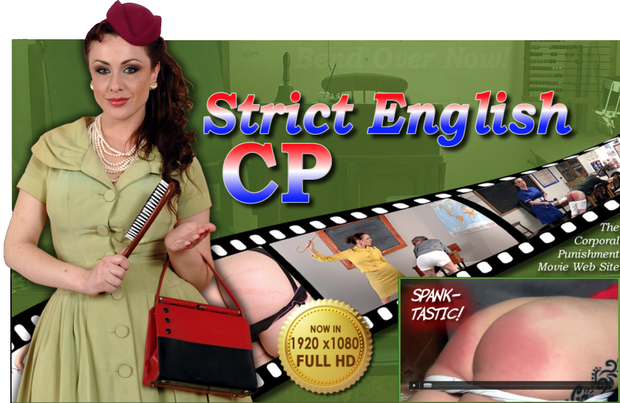 Strict English CP Spanking