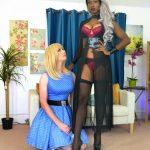 Mistress Foxx trains her house TV maid