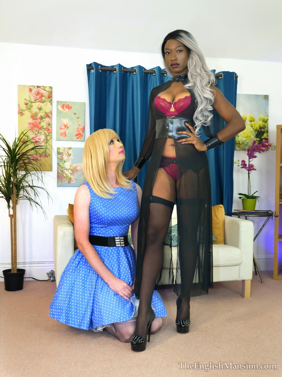 Mistress Foxx trains her house TV maid