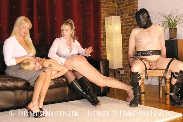 Training the slave boy and slave girl