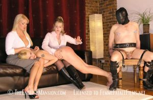 Slave boy and girl training