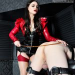 Caned by Mistress Serena