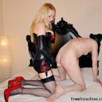 Face Fuck with Mistress Eleise de Lacy