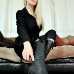 Lick My Boots with Mistress Eleise de Lacy