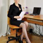 Under My Desk with Mistress Eleise de Lacy