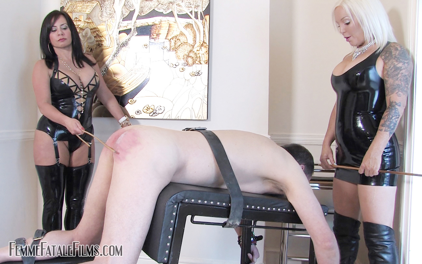 Mistress R'eal punishes her slave