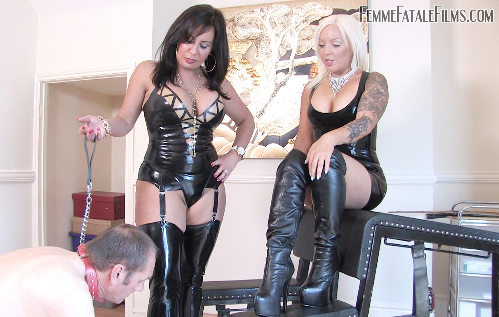 Mistress R'eal' punishes her slave