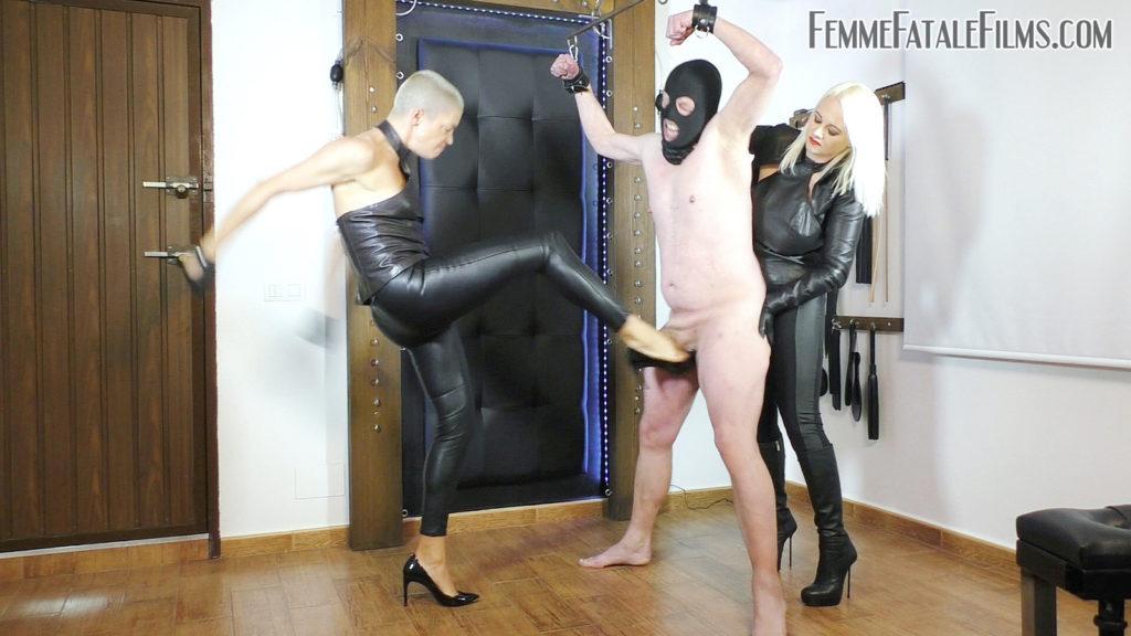Brutal Busting - Super HD with Divine Mistress Heather, The Hunteress