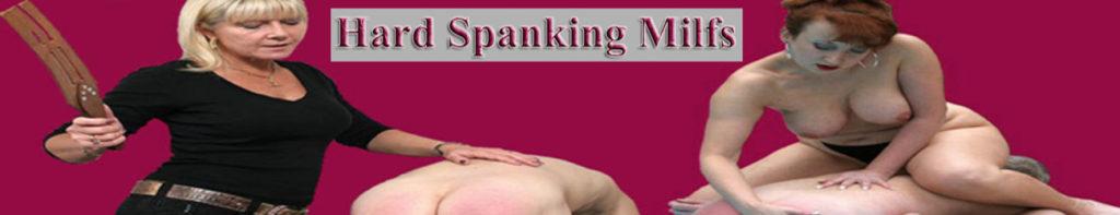 Hard Spanking Milfs