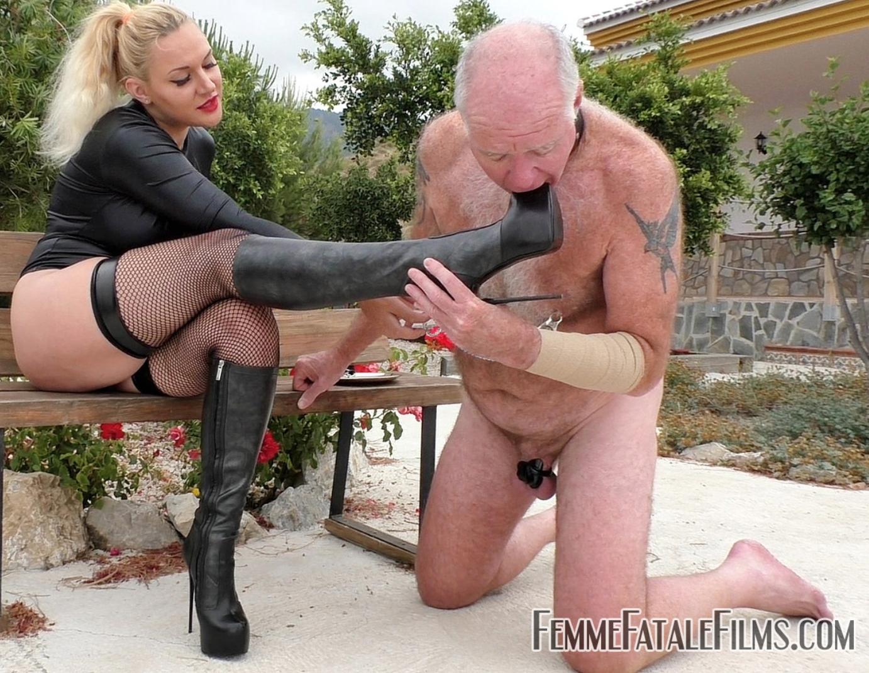 Femme Fatale Films presents Stiletto Boot Prints - Super HD with Mistress Fox