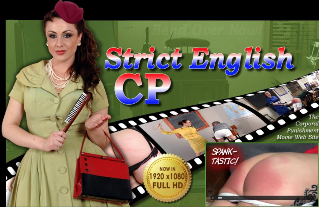 Strict English CP Spanking