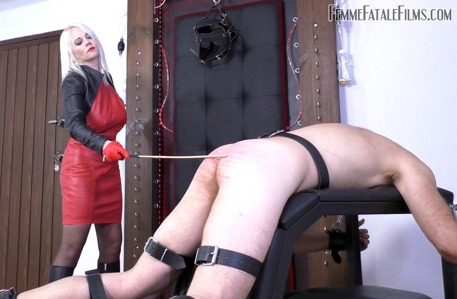 Featuring Divine Mistress Heather. Breaking slaves in to new experiences is always a pleasure of mine, especially when the experience is an extreme one! In this session, I intensify the suffering for one of my personal slaves with the use of several whips, single tails and a beautiful and vicious cat-o'-nine. When it came to the cane, a form of treatment this slave especially hates, I decided to give him the three dragon treatment! Three brutal dragon canes of differing density to ensure he got a good range of agonizing sensations.