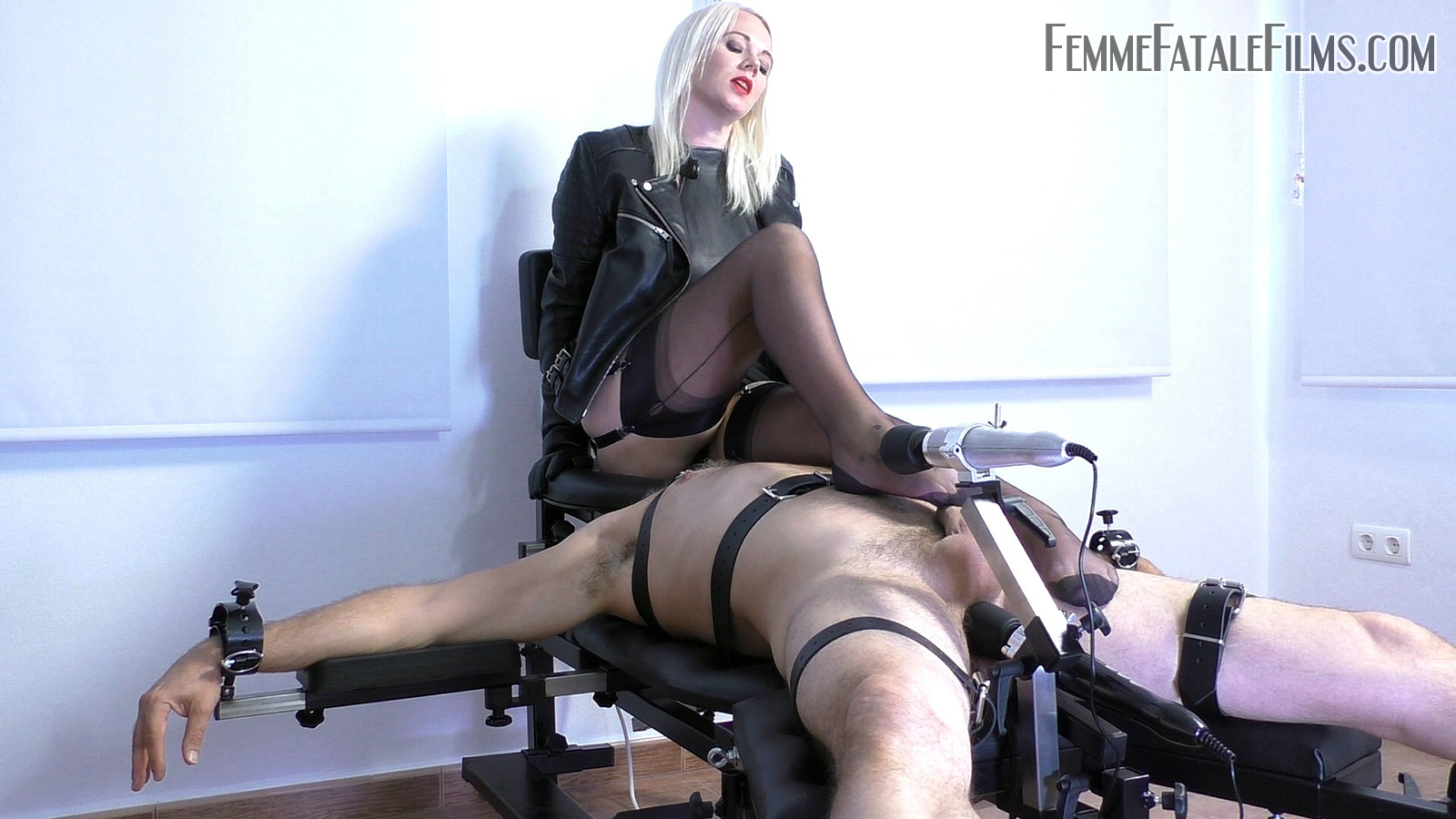 Featuring Divine Mistress Heather. I decided to allow my slave to have an orgasm release, so after strapping him down to my inescapable bondage table, filling his ass with an inflatable plug, clamping his head beneath my queening chair and then instructing him that he may only cum whilst his tongue was buried deep inside my asshole, I set about making his orgasm entirely out of his control, but solely in mine. The balloon plug was made that much more intense against his prostate with the use of an industrial strength vibrator, pushing and vibrating him hard on his asshole and another vibrator shaking at the head of his cock. With all of this going on and my permanent smothering and grinding of his face with my cunt and asshole, it wasn't long before he exploded his orgasm and another controlling imprint was successfully engraved on this slave's brain!