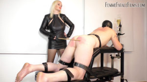 Getting Caned with Divine Mistress Heathe