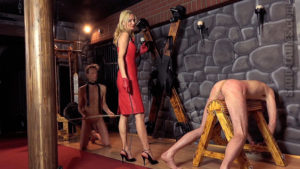 Venus in Furs Caning