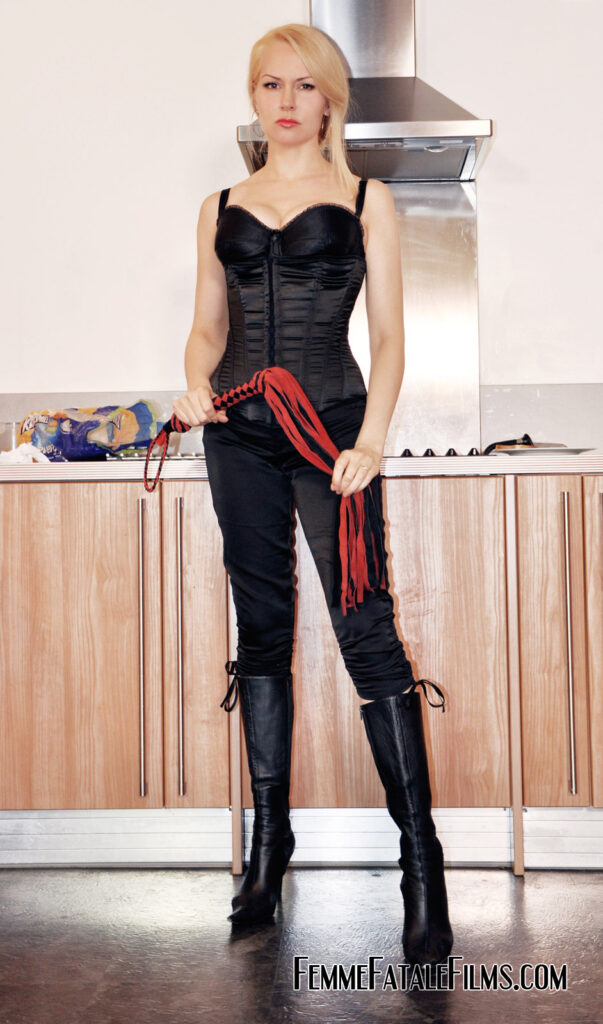 Mistress de Lacy comes home to find her kitchen in a