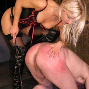 Thrashed by Mistress Vixen