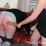 A bare bottom strapping for Nigel